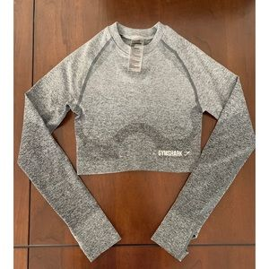 Gymshark Long Sleeve Crop Top
